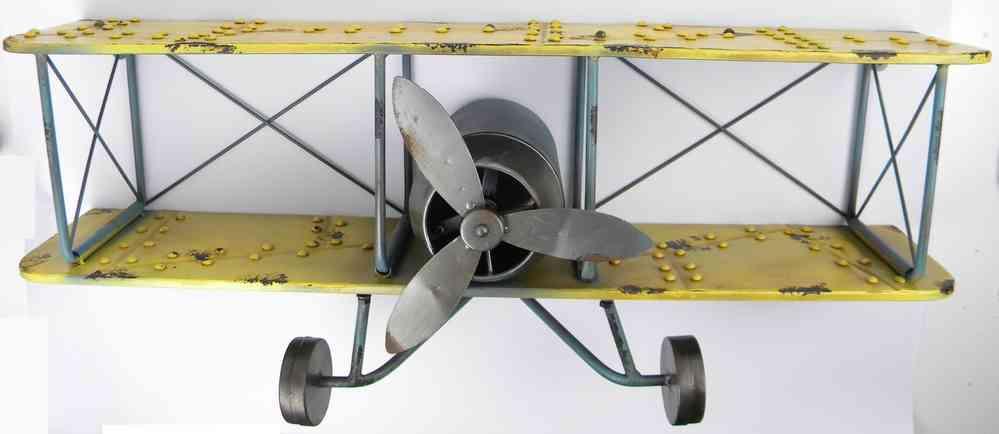 wandregal flugzeug 80cm - ..clever-deko - Kinderzimmer Deko Flugzeug