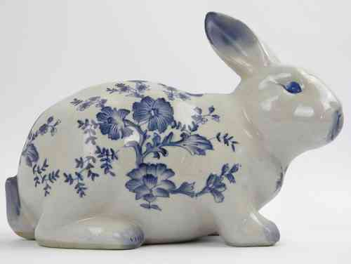 Hase Zwiebelmuster 25cm