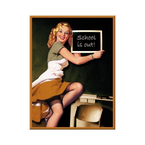 Magnet 6x8 Pin up - School