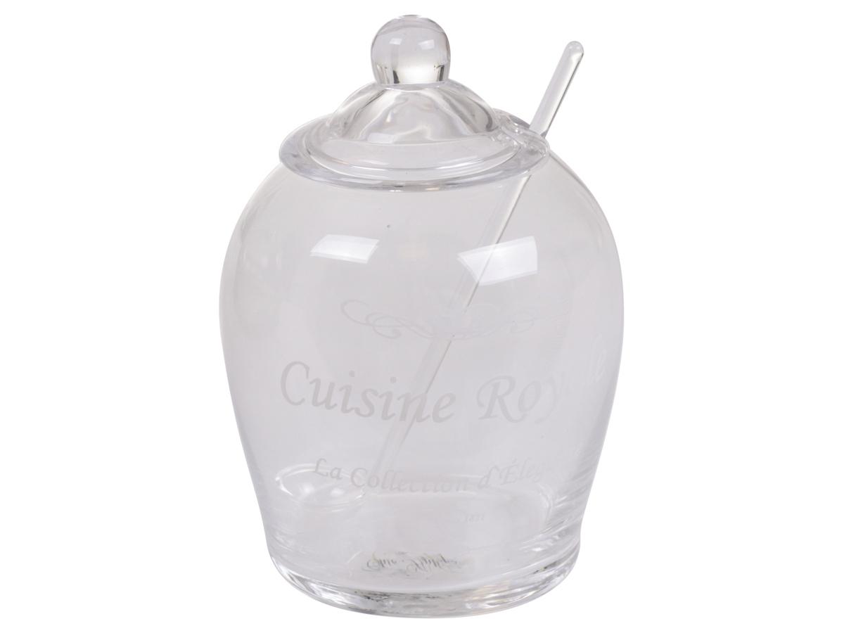 Marmeladenglas 11cm mit l ffel clever deko - Marmeladenglas deko ...